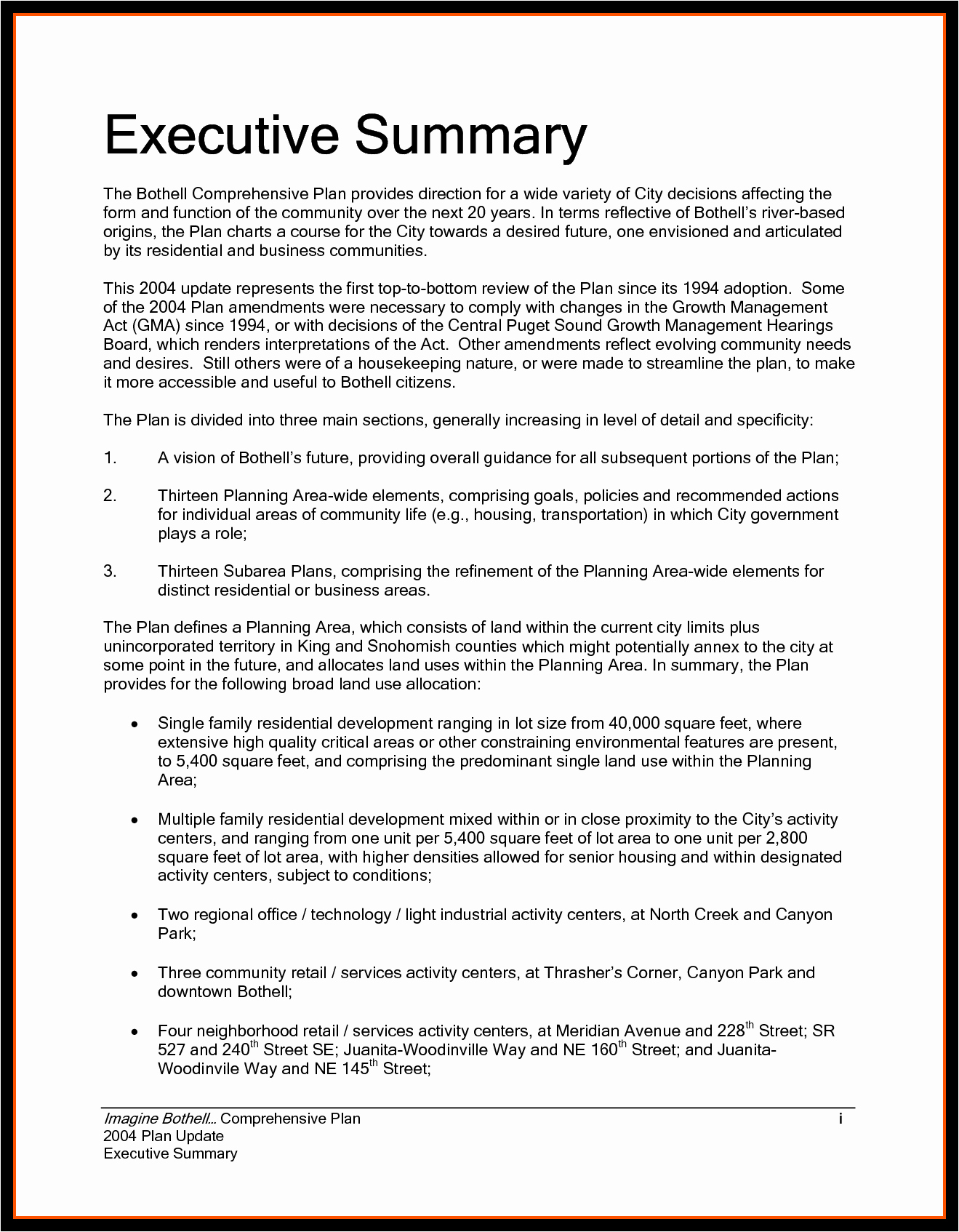 Example Of An Executive Summary Luxury Examples Executive Summaries Example Mughals