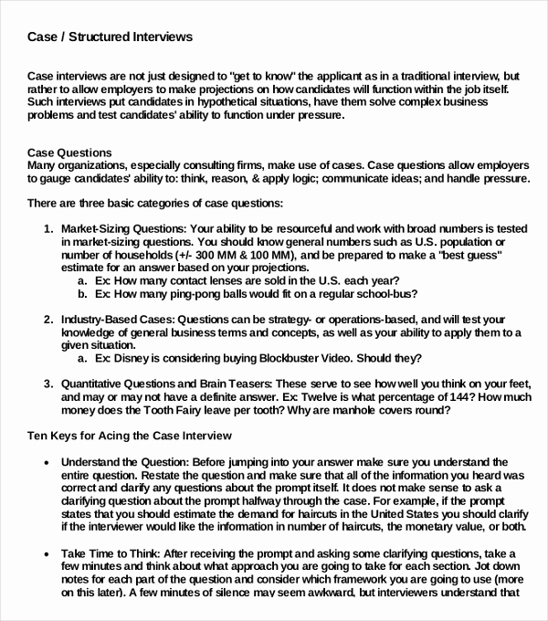 Example Of Case Study Luxury 10 Case Study Examples