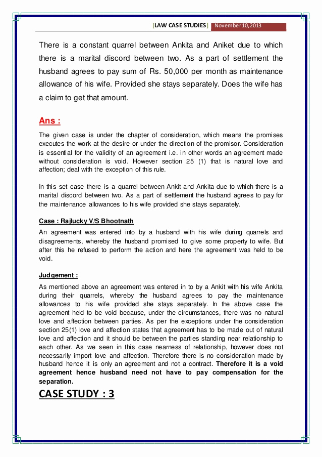 Example Of Case Study Luxury Case Study Examples for Mba Students Pdf Reportd24 Web