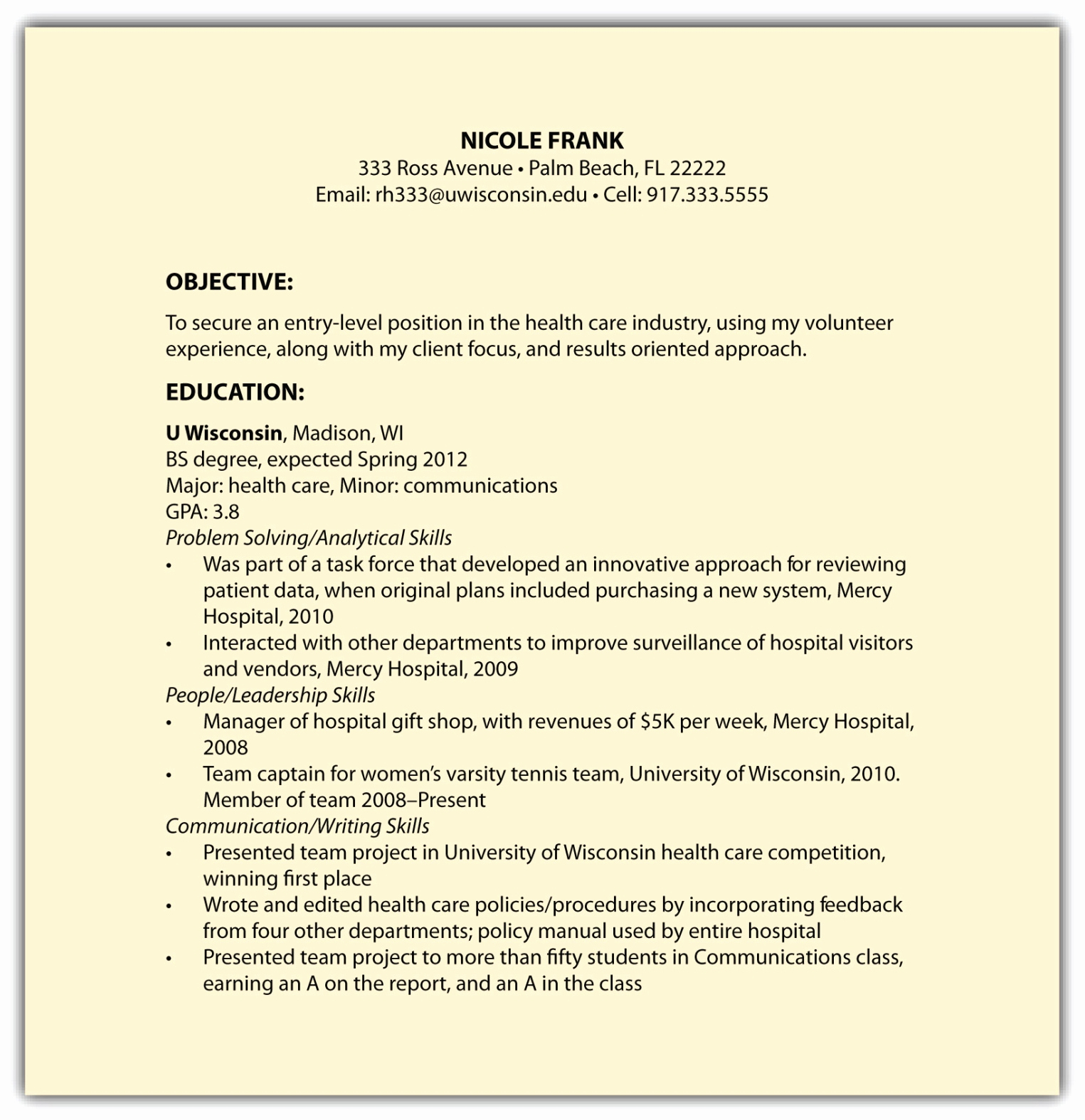 Example Of Functional Resume Awesome Other Résumé formats Including Functional Résumés