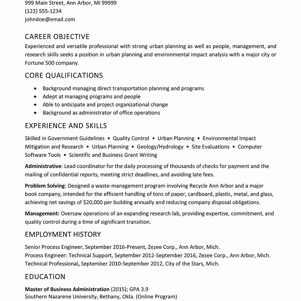 Example Of Functional Resume Awesome Sample Functional Resume format