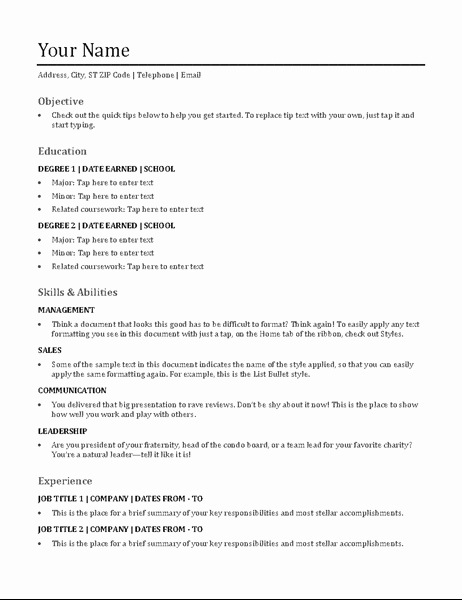 Example Of Functional Resume Best Of Crisp and Clean Resume Designed by Moo Fice Templates