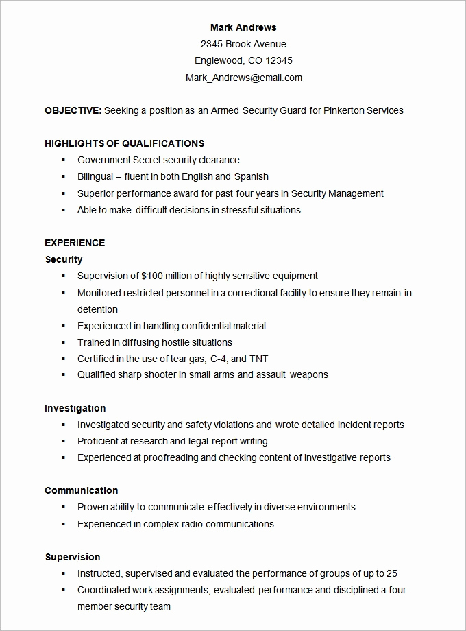 Example Of Functional Resume Inspirational Functional Resume Template