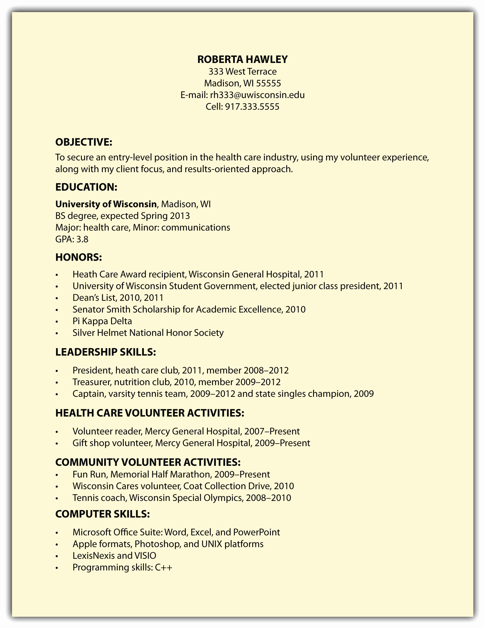 s08 06 other resume formats including
