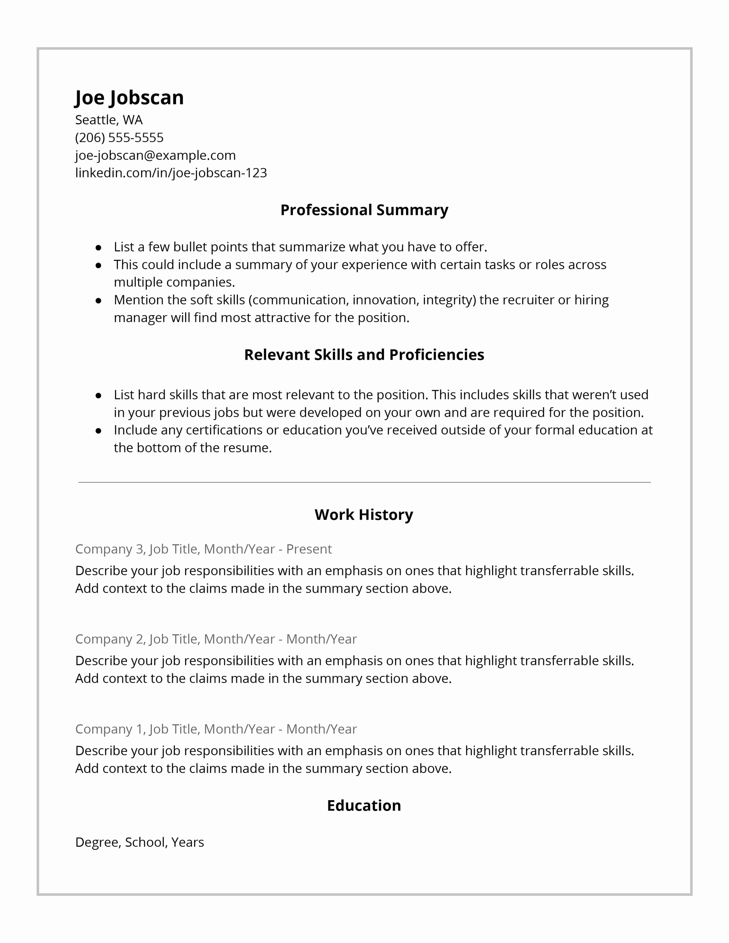 Example Of Functional Resume Unique why Recruiters Hate the Functional Resume format Jobscan