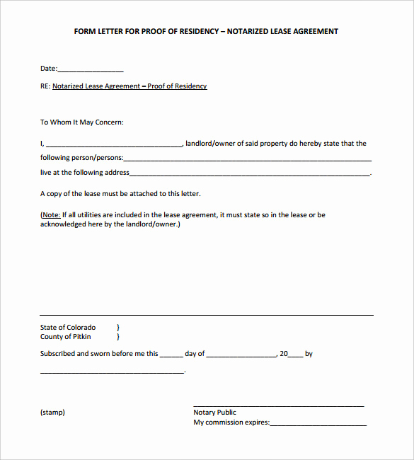 Example Of Notarized Document Best Of Doc Notary Template – Notarized Letter Templates