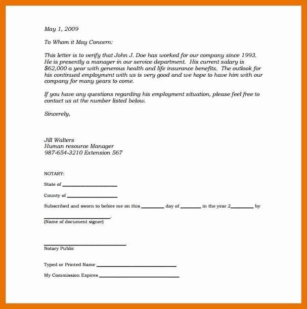 Example Of Notarized Document Fresh 10 11 Notary Examples