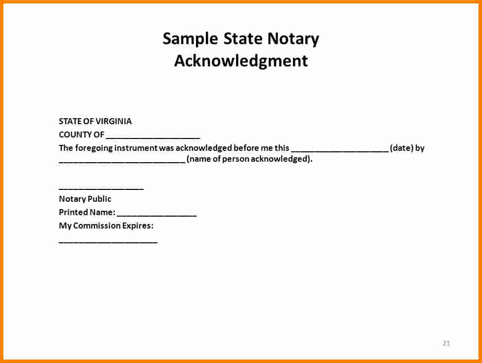Example Of Notarized Document New How to Notarize A Letter