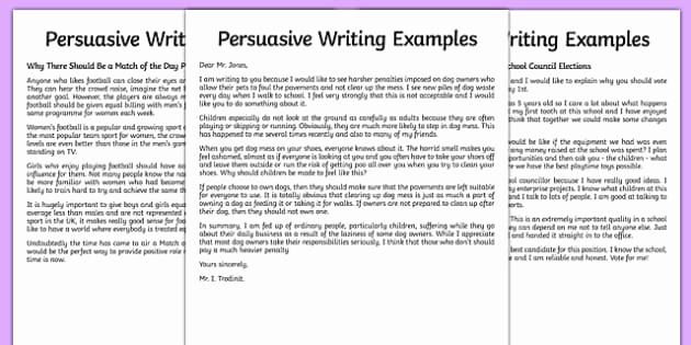 Example Of Persuasive Essay Luxury Persuasive Writing Sample