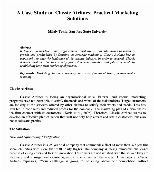 Examples Of Case Studies Unique 10 Case Study Examples