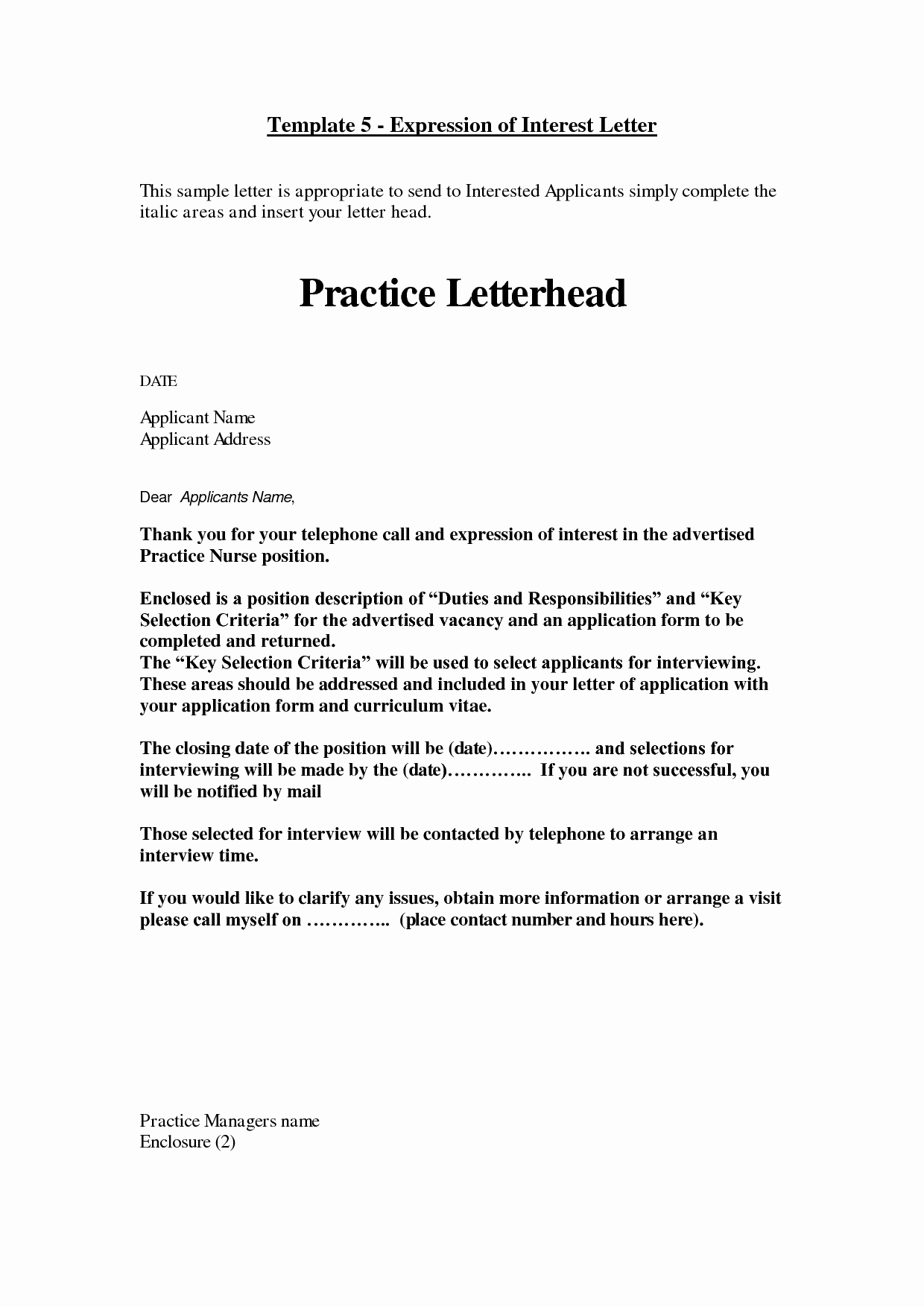 Examples Of Letters Of Interest Best Of How to Write A Cover Letter Of Interest Example for A Job