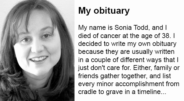 Examples Of Obituaries Well Written Fresh This Woman S Humble and Honest Self Written Obituary is A