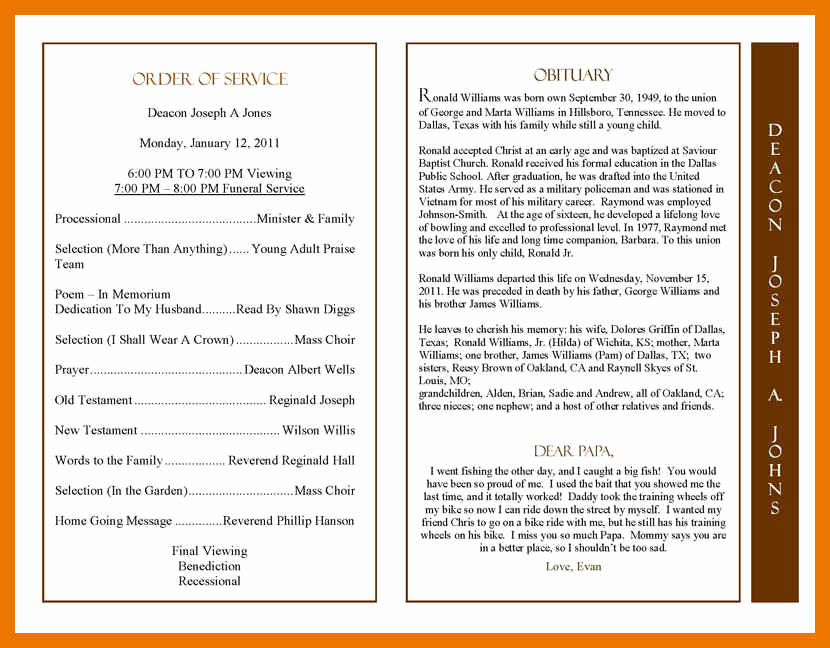 Examples Of Obituaries Well Written Inspirational 3 4 Mother Obituary Examples