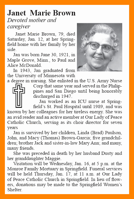 Examples Of Obituaries Well Written New 9 Examples Of Obituary