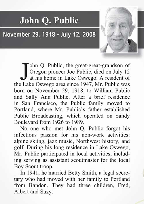 Examples Of Obituaries Well Written Unique Home [publicationsgnews]