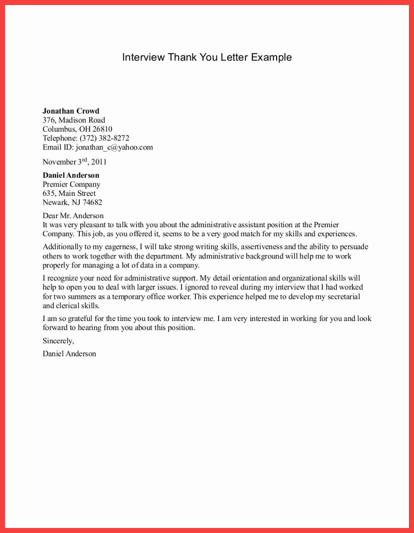 Examples Of Thank You Letters Inspirational Sample Appreciation Letters