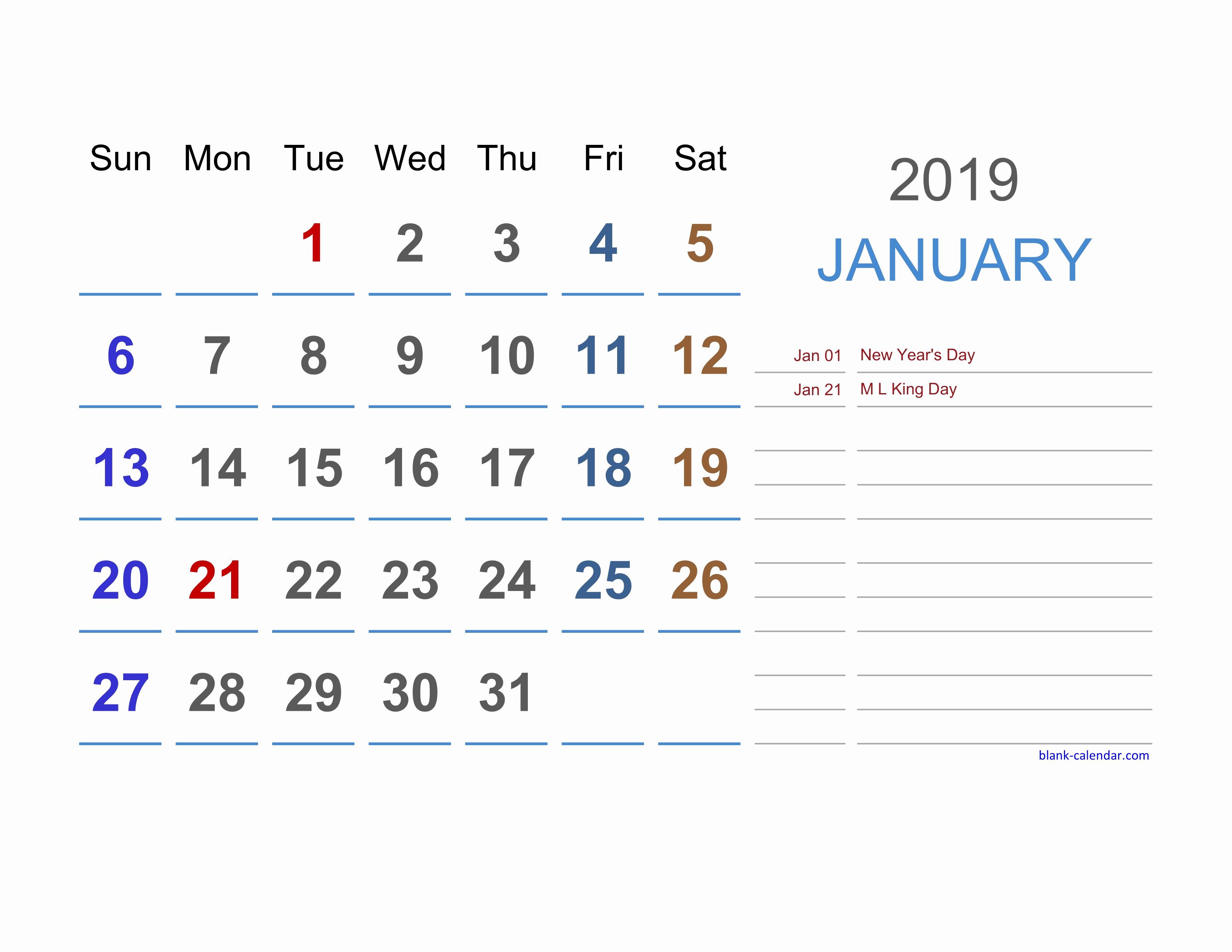 Excel Calendar 2019 Template Elegant 2019 Excel Calendar