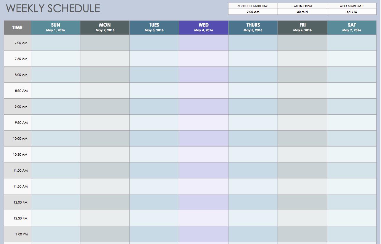 Excel Employee Schedule Template Luxury Weekly Employee Shift Schedule Template Excel