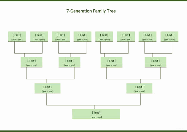 Excel Family Tree Template Beautiful Simple Family Tree Template 27 Free Word Excel Pdf