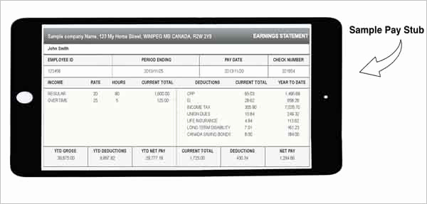 Excel Pay Stub Template Luxury 62 Free Pay Stub Templates Downloads Word Excel Pdf Doc