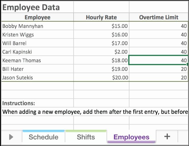 Excel Work Schedule Template New Free Excel Employee Scheduling Template