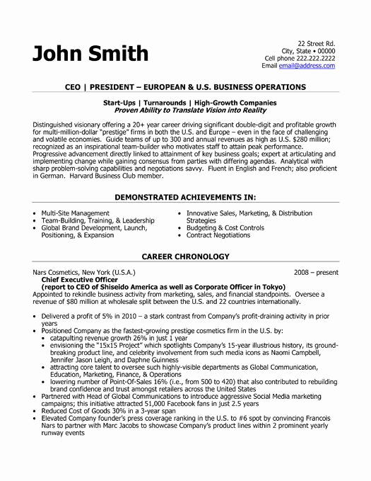 Executive Resume Template Word Awesome Pin by Mj Perez On Work Stuff