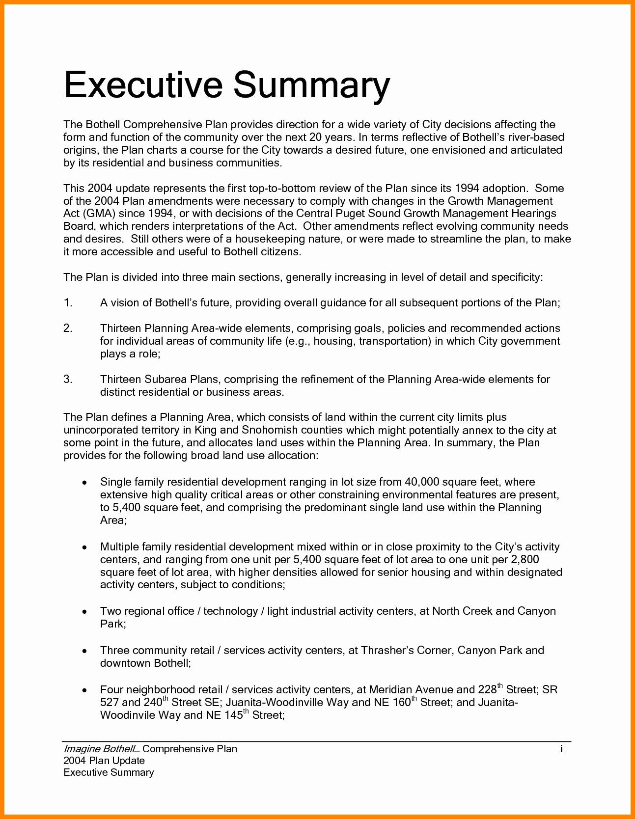 Executive Summary Marketing Plan Beautiful 9 Executive Summary Marketing Plan Examples Pdf Word
