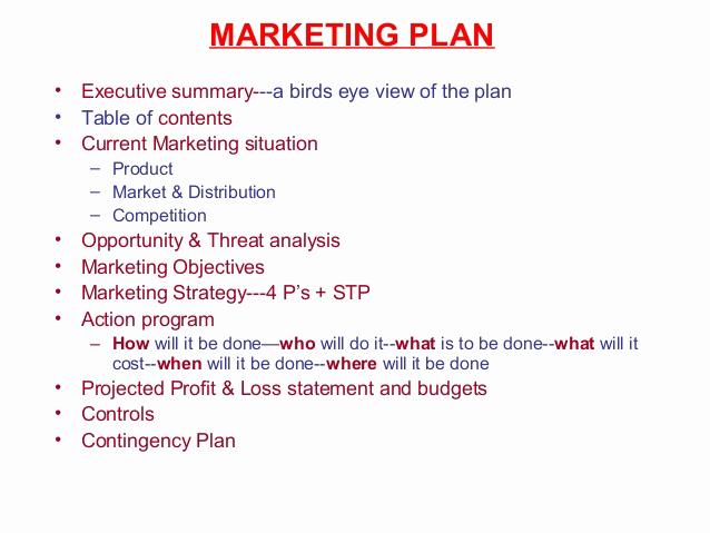 Executive Summary Marketing Plan New 2 the Marketing Process