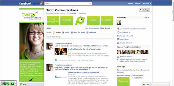 Facebook Business Page Template Awesome Template – 49 Free Word Pdf Psd Ppt format