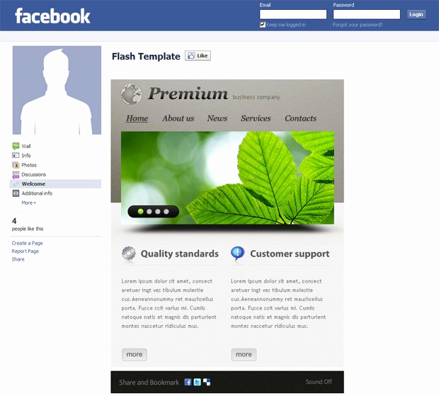 Facebook Business Page Template Best Of Corporate and Business Templates Showcase