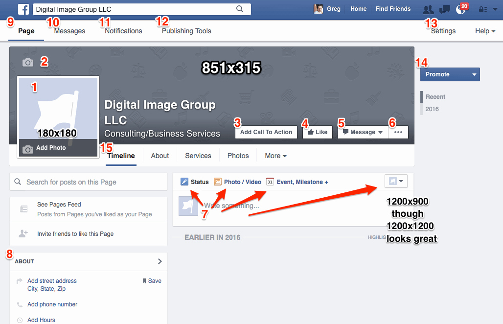 Facebook Business Page Template Fresh How to Create A Business Page the Definitive