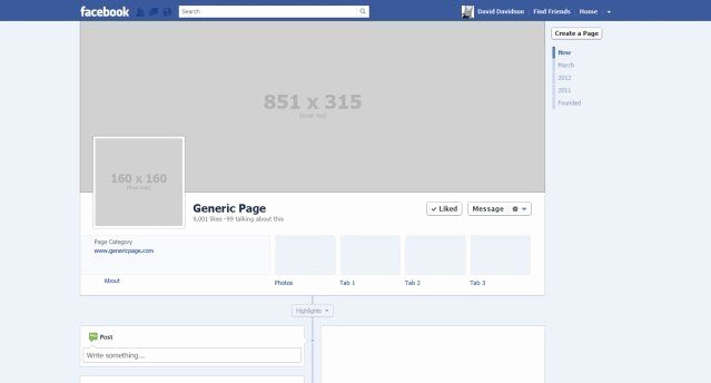 Facebook Business Page Template Inspirational Blank Psd Template Good for Fb Profile