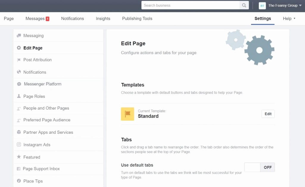 Facebook Business Page Template Lovely New Opportunity with Templates