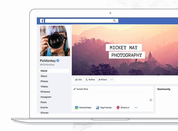 Facebook Business Page Template Unique Make A Cover with Design Templates