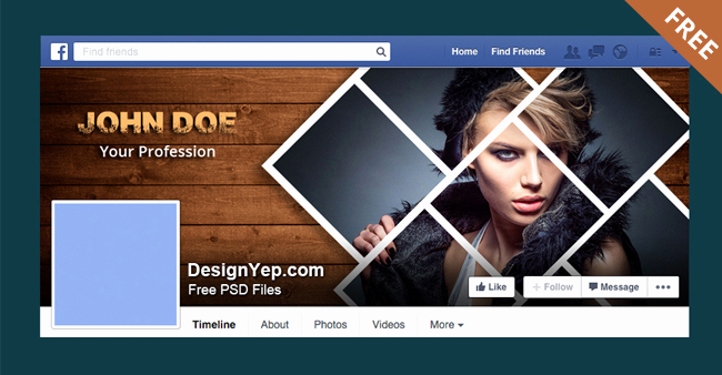 Facebook Cover Photo Template Psd Beautiful Free Graphy Timeline Cover Psd Template