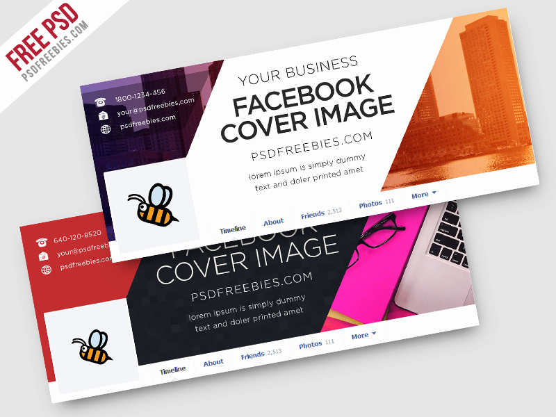 Facebook Cover Photo Template Psd Elegant Freebie Corporate Covers Free Psd Template by