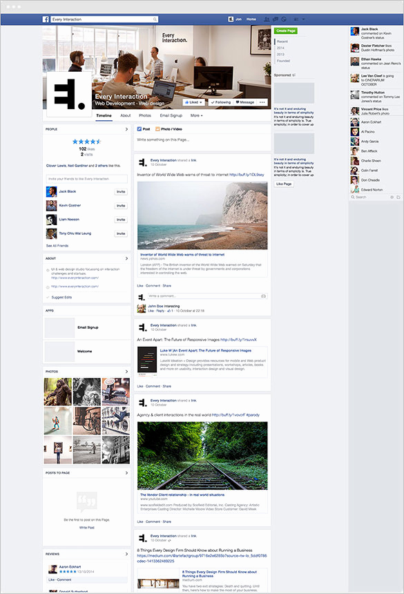 Facebook Cover Photo Template Psd New 9 Outstanding Psd Templates & Designs