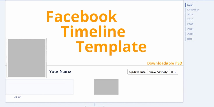 Facebook Cover Template Psd Awesome Timeline Cover Template 2016 with Psd