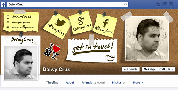 Facebook Cover Template Psd Fresh 18 Amazing Psd Timeline Cover Templates