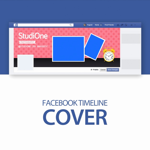 Facebook Cover Template Psd Fresh Cover Template Psd File