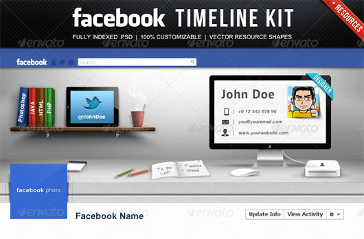 Facebook Cover Template Psd Inspirational 60 High Quality Timeline Cover Psd Templates