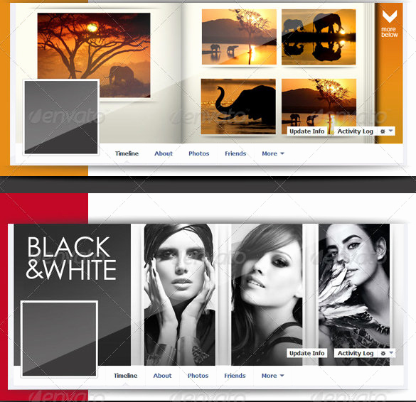 Facebook Cover Template Psd Luxury 35 Collage Templates – Free Psd Vector Eps Ai