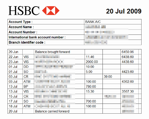 Fake Bank Statement Generator Fresh Bank Statements From the Last 3 Months Showing You Have