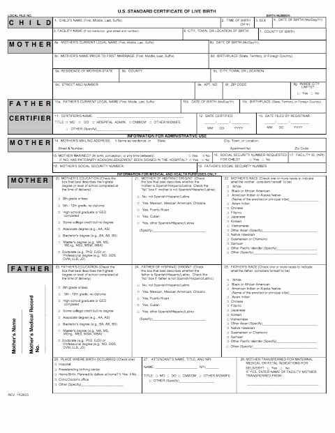 Fake Birth Certificate Maker Fresh 15 Birth Certificate Templates Word & Pdf Template Lab
