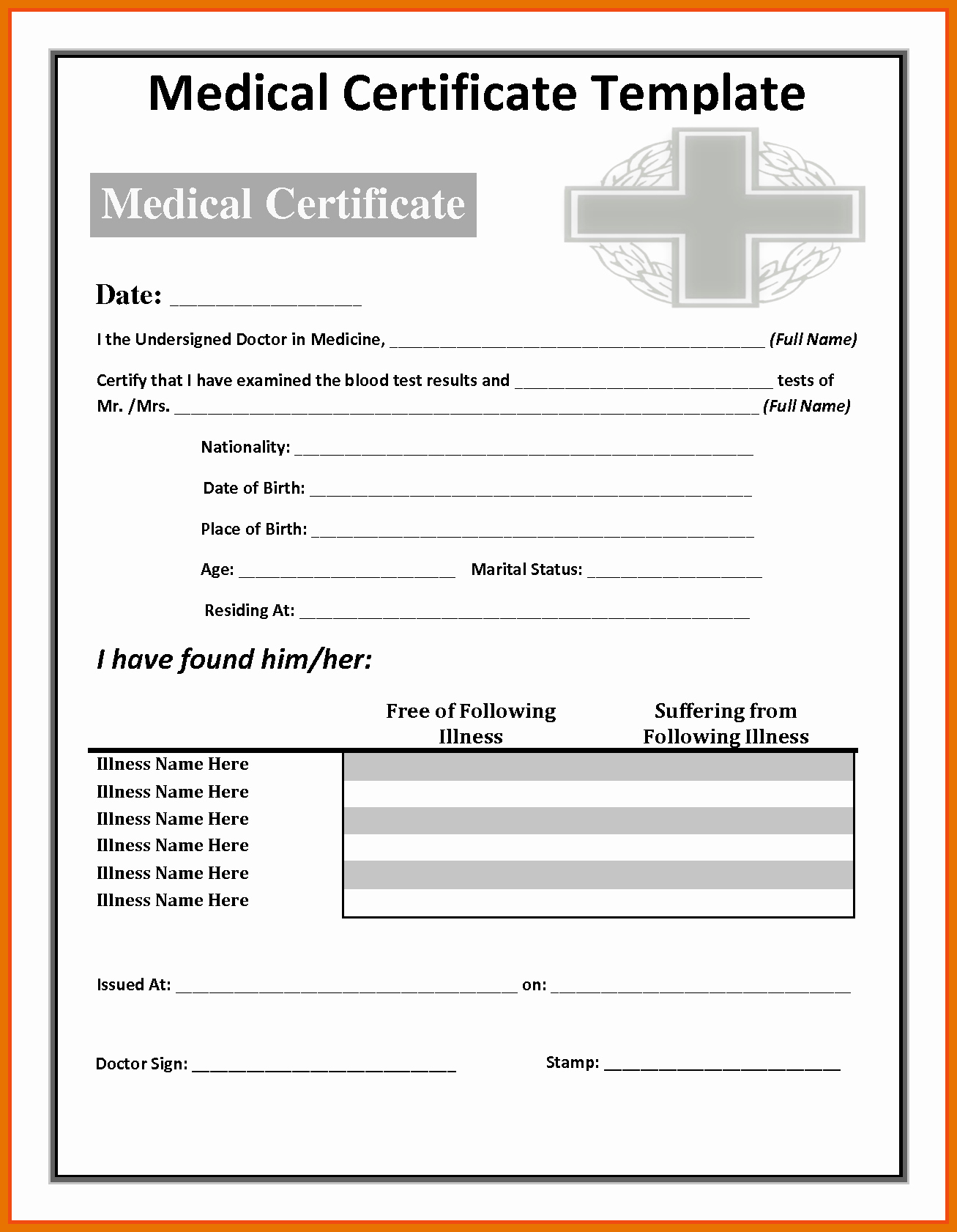 Fake Doctors Note Pdf Awesome 9 10 Uk Doctors Note