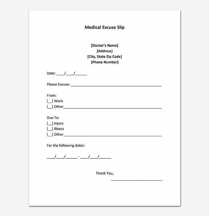Fake Doctors Note Pdf Lovely 40 Fake Doctors Note Template Download [pdf Doc]