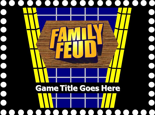 Family Feud Powerpoint Template Awesome Family Feud with sound Powerpoint Template Free