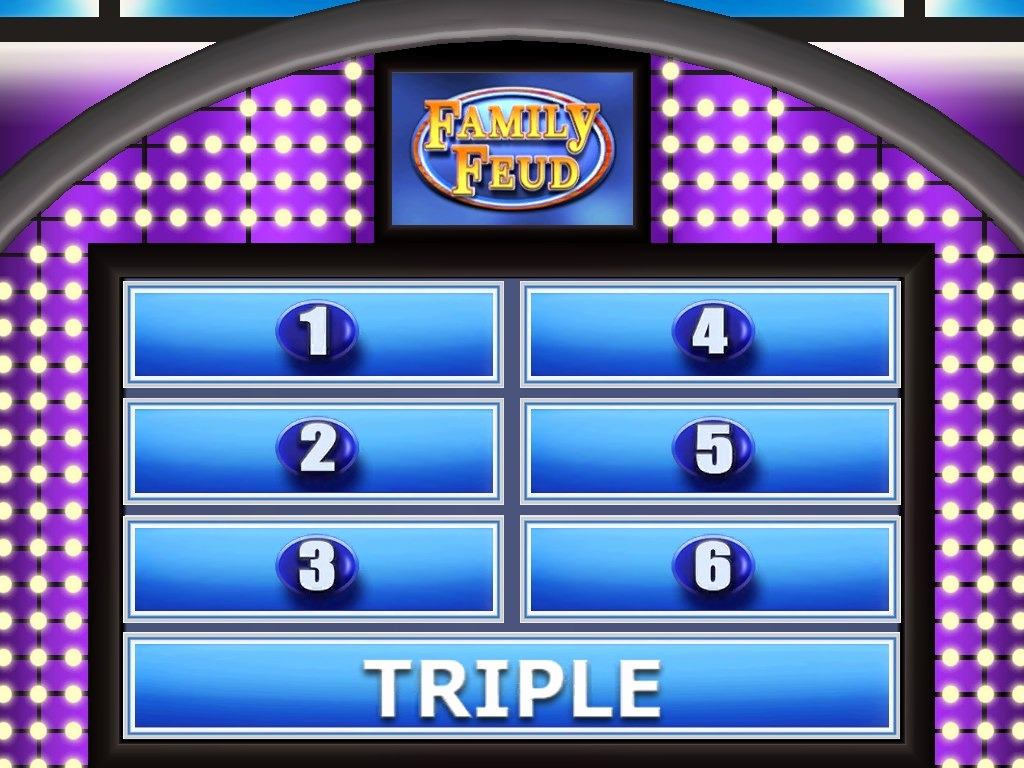 Family Feud Powerpoint Template Beautiful Family Feud Game Template