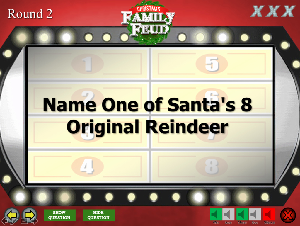 Family Feud Powerpoint Template Inspirational Christmas Family Feud Trivia Powerpoint Game Mac and Pc