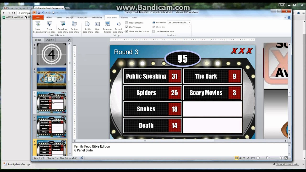 Family Feud Powerpoint Template Inspirational How to Make A Powerpoint Family Feud Template Game